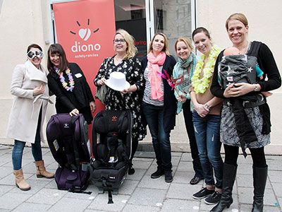 Blogger-Event zum Launch des Radian 5 von Diono