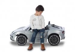 21152 PORSCHE 918 6 V SUV silver with RC Lifestyle_1
