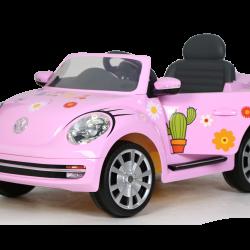 Rollplay Flower Power VW Beetle_pink 2