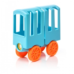 SmartMax Animal Train Waggon (blau)
