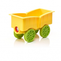 SmartMax Animal Train Waggon (gelb)