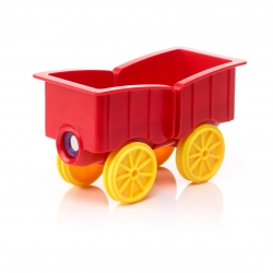 SmartMax Animal Train Waggon (rot)
