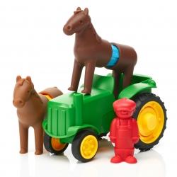 SmartMax Tractor Set (Bauer und Pferd2)