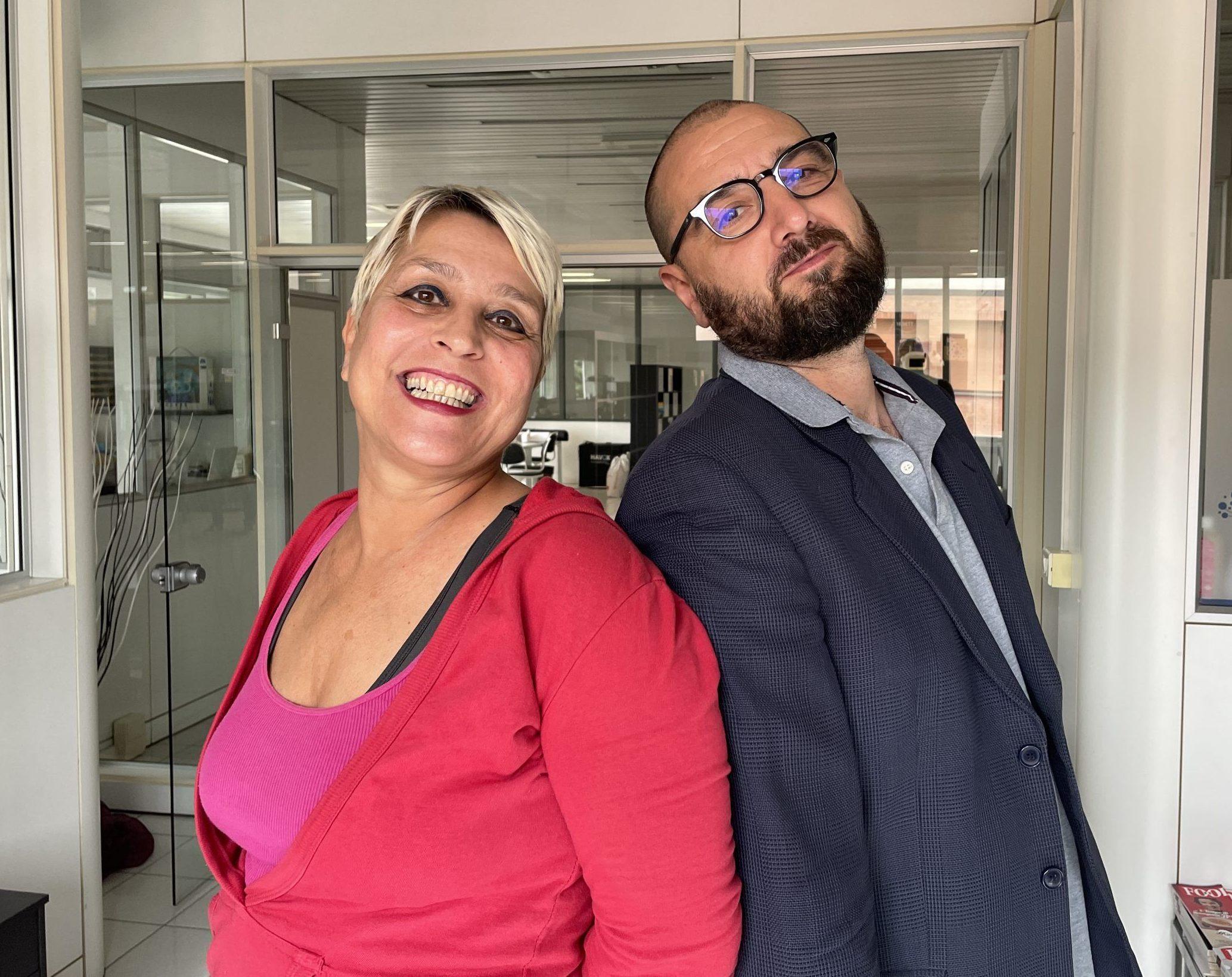 Rossella Lucangelo and Enrico Salsi
